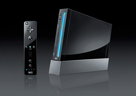 Nintendo Wii Kuro