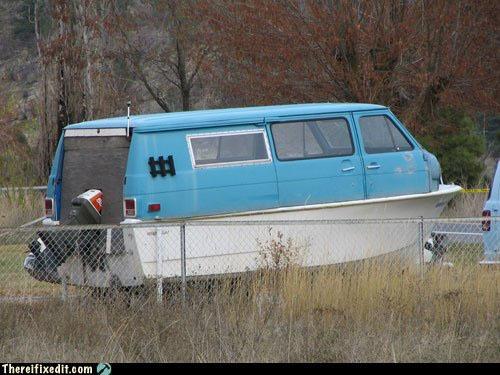 bateau hippie